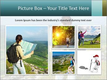 Girl tourist PowerPoint Template - Slide 19