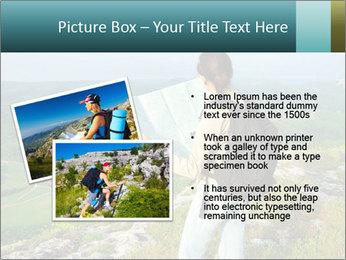 Girl tourist PowerPoint Template - Slide 20