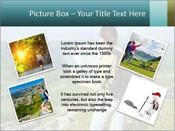 Girl tourist PowerPoint Template - Slide 24