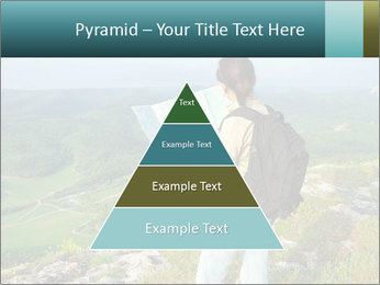 Girl tourist PowerPoint Template - Slide 30