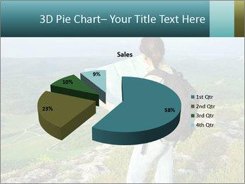 Girl tourist PowerPoint Template - Slide 35