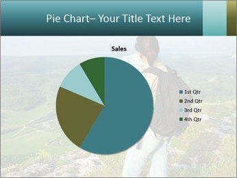 Girl tourist PowerPoint Template - Slide 36