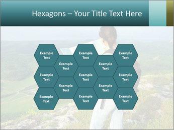Girl tourist PowerPoint Template - Slide 44