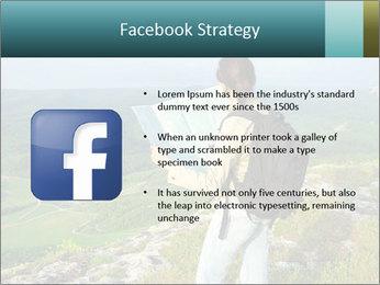 Girl tourist PowerPoint Template - Slide 6