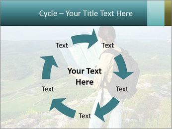 Girl tourist PowerPoint Template - Slide 62