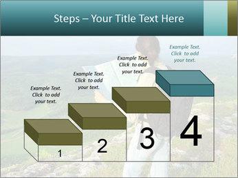 Girl tourist PowerPoint Template - Slide 64
