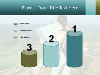 Girl tourist PowerPoint Template - Slide 65