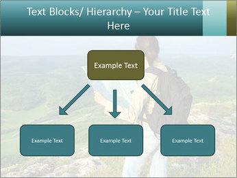 Girl tourist PowerPoint Template - Slide 69
