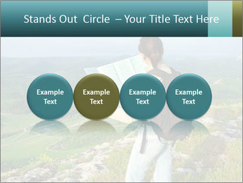 Girl tourist PowerPoint Template - Slide 76