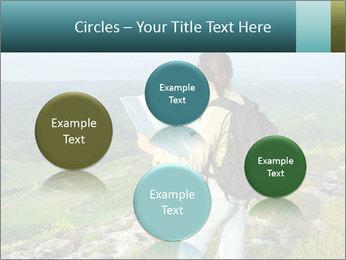 Girl tourist PowerPoint Template - Slide 77