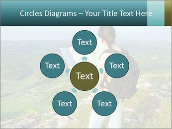 Girl tourist PowerPoint Template - Slide 78