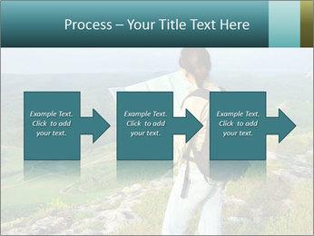 Girl tourist PowerPoint Template - Slide 88