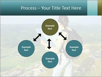 Girl tourist PowerPoint Template - Slide 91