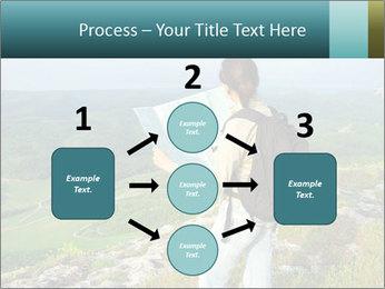 Girl tourist PowerPoint Template - Slide 92