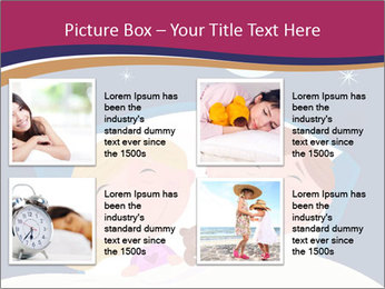 Boy and girl sleeping PowerPoint Template - Slide 14