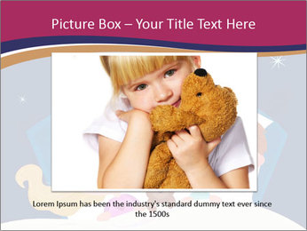 Boy and girl sleeping PowerPoint Template - Slide 15