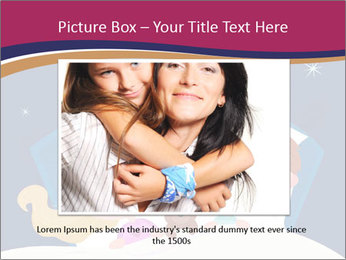 Boy and girl sleeping PowerPoint Template - Slide 16