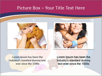 Boy and girl sleeping PowerPoint Template - Slide 18