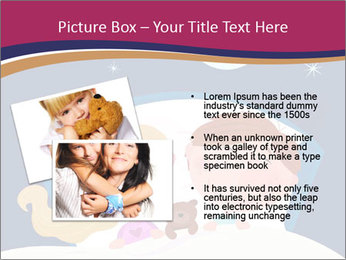 Boy and girl sleeping PowerPoint Template - Slide 20