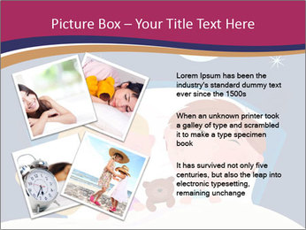 Boy and girl sleeping PowerPoint Template - Slide 23