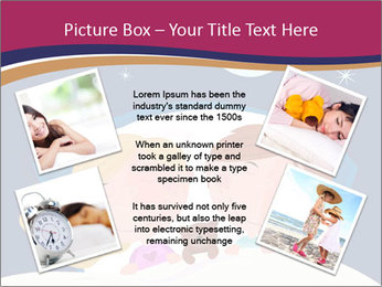 Boy and girl sleeping PowerPoint Templates - Slide 24