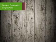 Wooden planks PowerPoint Templates