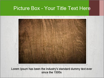 Wooden planks PowerPoint Template - Slide 15