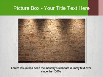 Wooden planks PowerPoint Template - Slide 16
