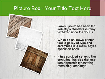 Wooden planks PowerPoint Template - Slide 17