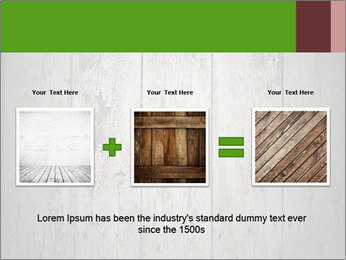 Wooden planks PowerPoint Template - Slide 22