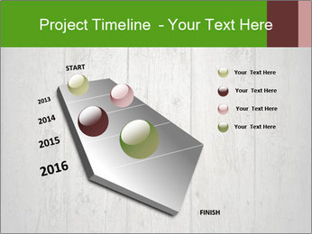 Wooden planks PowerPoint Template - Slide 26