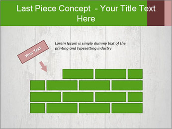 Wooden planks PowerPoint Template - Slide 46