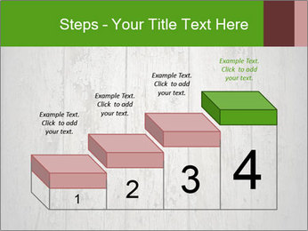 Wooden planks PowerPoint Template - Slide 64