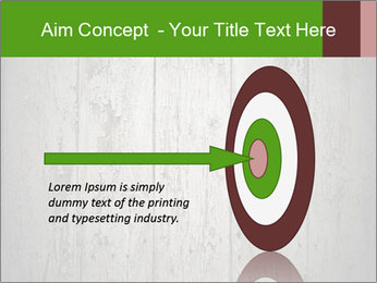 Wooden planks PowerPoint Template - Slide 83