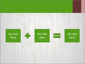 Wooden planks PowerPoint Template - Slide 95