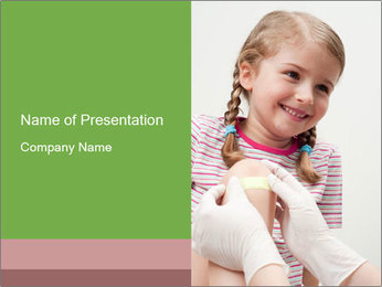 First Aid PowerPoint Template - Slide 1