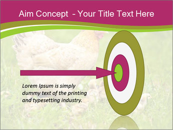 Mother chicken PowerPoint Template - Slide 83