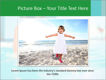 Happy girl PowerPoint Template - Slide 15