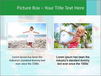 Happy girl PowerPoint Template - Slide 18