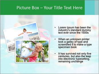 Happy girl PowerPoint Template - Slide 20