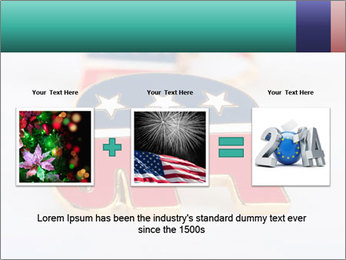 Republican Party PowerPoint Template - Slide 22