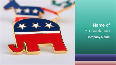Republican Party PowerPoint Template