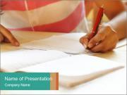 Schoolgirl PowerPoint Templates