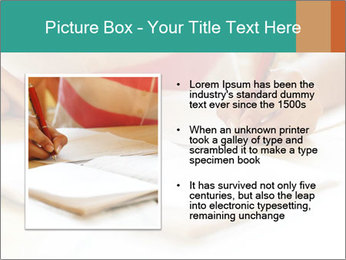 Schoolgirl PowerPoint Template - Slide 13