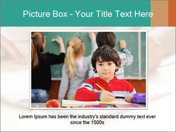 Schoolgirl PowerPoint Template - Slide 16