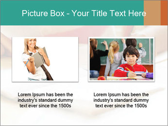 Schoolgirl PowerPoint Template - Slide 18