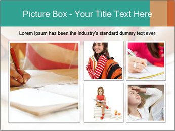 Schoolgirl PowerPoint Template - Slide 19