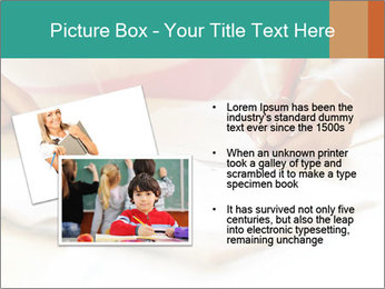Schoolgirl PowerPoint Template - Slide 20