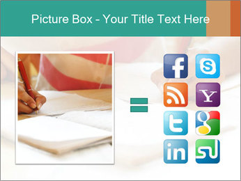 Schoolgirl PowerPoint Template - Slide 21
