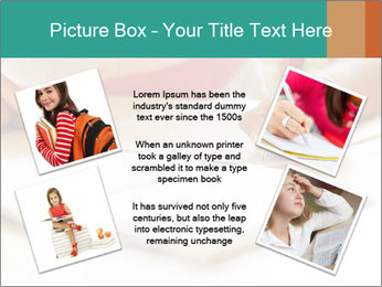 Schoolgirl PowerPoint Template - Slide 24